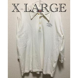 エクストララージ(XLARGE)のX-LARGE 七分丈 ポロシャツ(ポロシャツ)