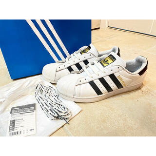 アディダス(adidas)のアディダス スーパースター 限定版 ホワイト ブラック(スニーカー)