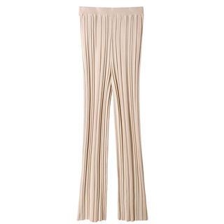 ルシェルブルー(LE CIEL BLEU)の【LE CIEL BLEU】Random Wide Rib Knit Pants(その他)
