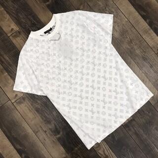 ルイヴィトン(LOUIS VUITTON)のリバースプリントチェーンカップル半袖(Tシャツ(半袖/袖なし))
