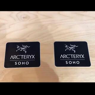 アークテリクス(ARC'TERYX)の残り僅か arcteryx ステッカー レア アークテリクス 非売品 SOHO(その他)
