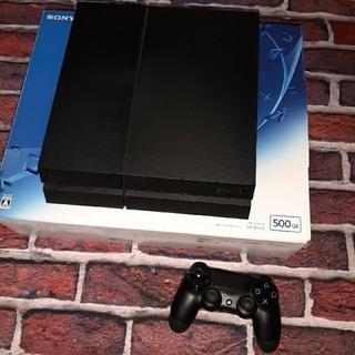 プレイステーション4(PlayStation4)のSONY PlayStation 4 CUH-1200A Jet Black(家庭用ゲーム機本体)
