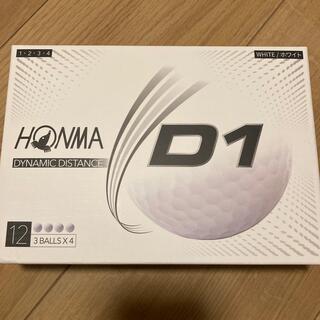 本間ゴルフ - 新品未使用 ホンマゴルフボールD1ホワイト 6ダース