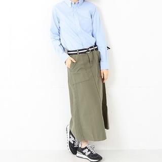 ビームスボーイ(BEAMS BOY)の★日本製 BEAMS BOY 4ポケットミリタリー マキシ スカート(ロングスカート)
