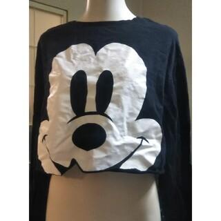 ディズニー(Disney)のミッキーマウス  長袖  チビティー(Tシャツ(長袖/七分))
