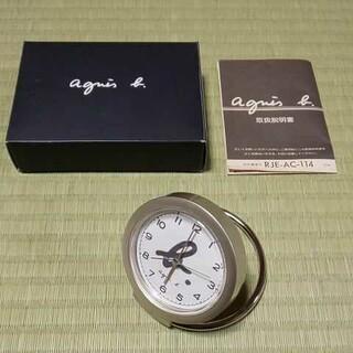 アニエスベー(agnes b.)の◼️アニエスベー  置時計  送料込◼️(置時計)