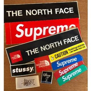 シュプリーム(Supreme)の激安 SUPREME&north face&STUSSY&FR2ステッカーセット(その他)