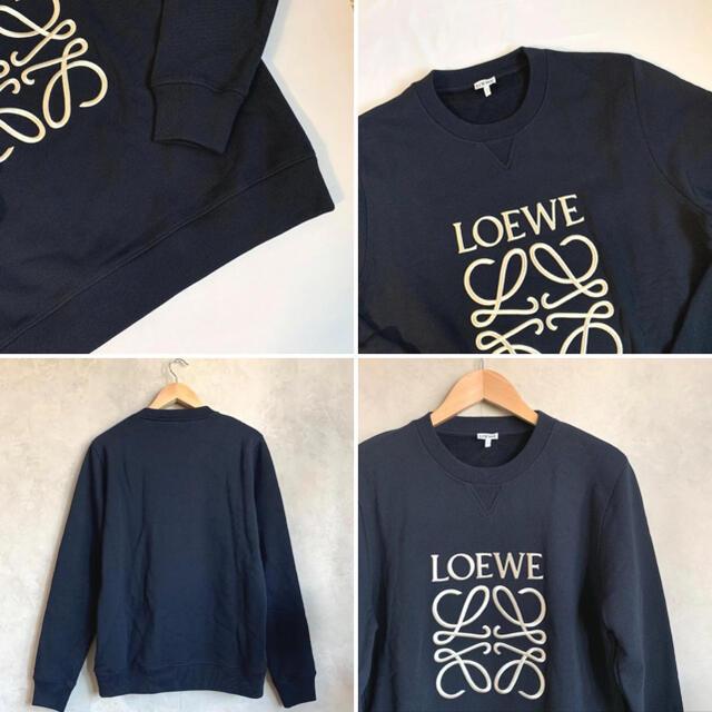 LOEWE(ロエベ)の【新品未使用タグ付き】LOEWE ロエベ アナグラム スウェットシャツ メンズのトップス(スウェット)の商品写真