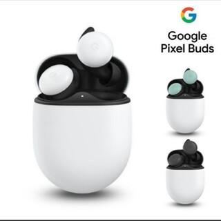 グーグルピクセル(Google Pixel)のGooglePixelBuds 黒色(ヘッドフォン/イヤフォン)
