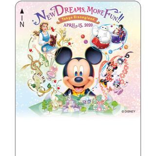 ディズニー(Disney)のディズニーリゾートライン ファンタジーランド・フォレストシアター 使用済(鉄道乗車券)