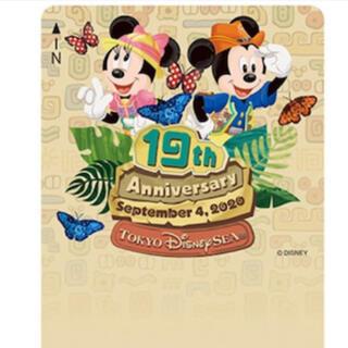 ディズニー(Disney)のディズニーリゾートライン フリーきっぷ 19th Anniversary 使用済(鉄道乗車券)