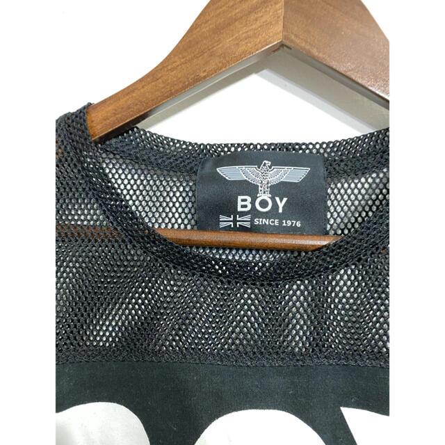Boy London(ボーイロンドン)の肩メッシュTシャツ レディースのトップス(Tシャツ(半袖/袖なし))の商品写真