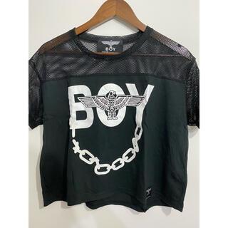 ボーイロンドン(Boy London)の肩メッシュTシャツ(Tシャツ(半袖/袖なし))