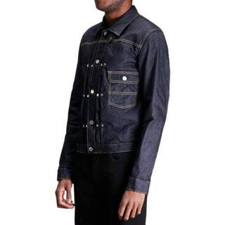 ナンバーナイン(NUMBER (N)INE)の新品 the soloist denim trucker jacket XL(Gジャン/デニムジャケット)