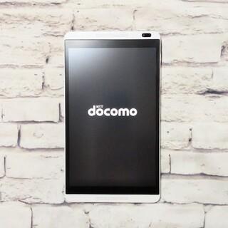 エヌティティドコモ(NTTdocomo)の【美品】docomo dtab D-01G (本体のみ)(タブレット)