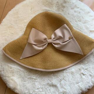 トゥモローランド(TOMORROWLAND)のAthena New York麦わら帽子ペーパハット(麦わら帽子/ストローハット)