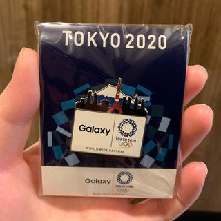 ギャラクシー(Galaxy)のGALAXYピンバッジ(TOKYO2020)(バッジ/ピンバッジ)