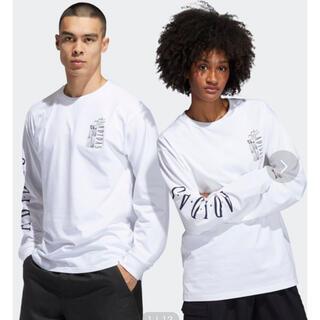 アディダス(adidas)のadidas ユニセックス 長袖 Tシャツ(Tシャツ(長袖/七分))