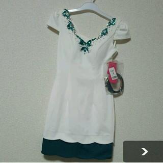 ジュエルズ(JEWELS)の新品未使用ベルト付き♡タグ付きドレス(ミニドレス)