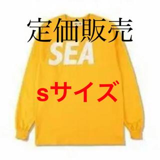 SEA - 早い者勝ち wind and sea L/S T-SHIRT  sサイズ ロンt