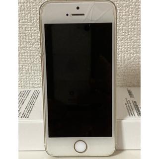 アップル(Apple)のiPhone 5s 32g ゴールド(スマートフォン本体)