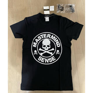 マスターマインドジャパン(mastermind JAPAN)の新品未使用品 マスターマインド×センス 50%&100%ベアブリック付 Tシャツ(Tシャツ/カットソー(半袖/袖なし))