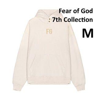 FEAR OF GOD - Fear of God 7th FG Hoodie White Mサイズ