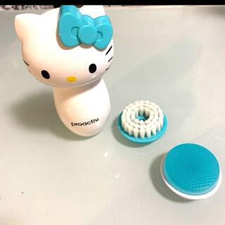 ハローキティ(ハローキティ)の中古 ハローキティ プロアクティブ 自動洗顔ブラシ アタッチメント2種類付き(洗顔ネット/泡立て小物)