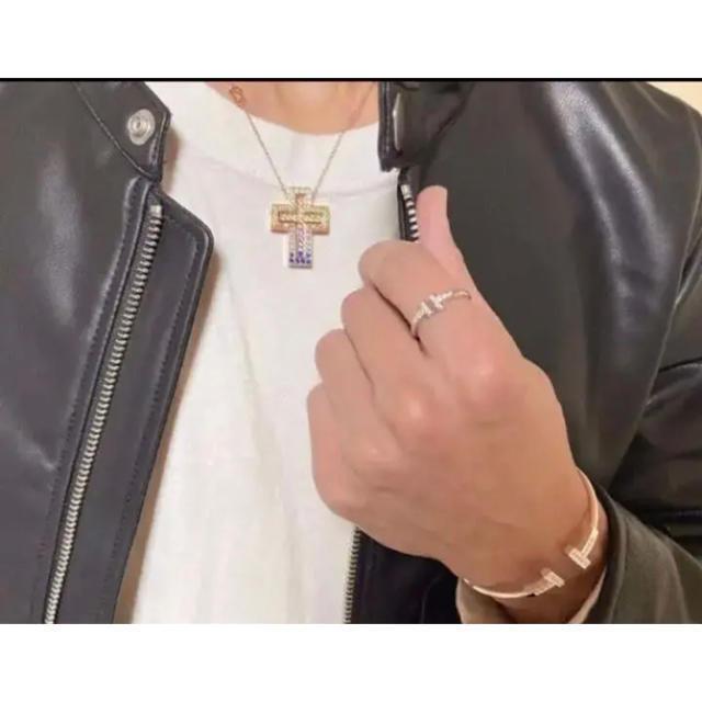 Damiani(ダミアーニ)の⭐️最高品質⭐️特注オーダー⭐️1.26ct⭐️ダブルクロス⭐️ネックレス⭐️ メンズのアクセサリー(ネックレス)の商品写真