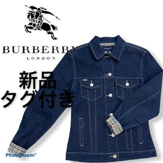 バーバリーブルーレーベル(BURBERRY BLUE LABEL)のBURBERRY バーバリー デニムジャケット gジャン ノバチェック(Gジャン/デニムジャケット)