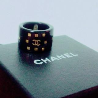 シャネル(CHANEL)の最終お値下げ♡CHANELリング★刻印有り★(リング(指輪))