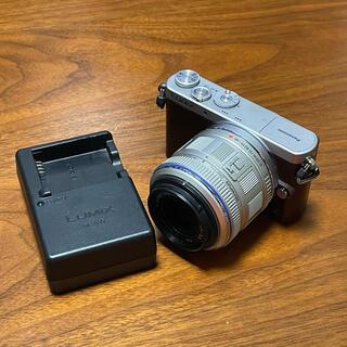 Panasonic - 外観美品 パナソニック LUMIX GM1S シルバー レンズセット 訳あり?
