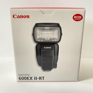 キヤノン(Canon)の【新品未使用】 Canon 600EX II-RT スピードライト(ストロボ/照明)