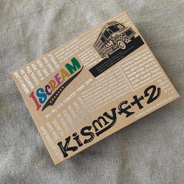 Kis-My-Ft2(キスマイフットツー)のKis-My-Ft2 ISCREAM Blu-ray エンタメ/ホビーのDVD/ブルーレイ(ミュージック)の商品写真