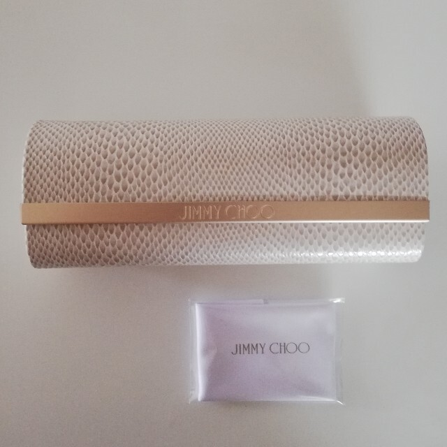 JIMMY CHOO(ジミーチュウ)のJIMMY CHOO メガネケース レディースのファッション小物(サングラス/メガネ)の商品写真
