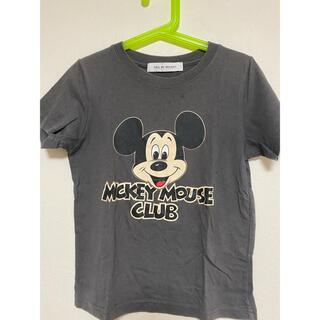 アズールバイマウジー(AZUL by moussy)のAZUL by moussy ミッキーTシャツ120(Tシャツ/カットソー)