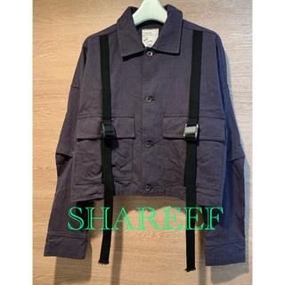 SHAREEF - SHAREEF シャリーフ ショートシャツブルゾン