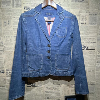 アールジーン(Earl Jean)のEarl Jean アールジーン テーラードジャケット デニムジャケット(Gジャン/デニムジャケット)