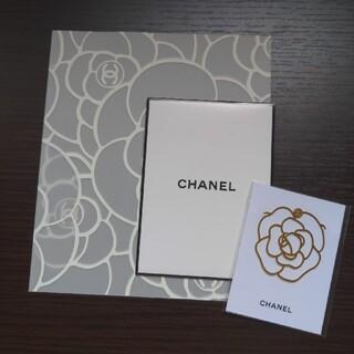シャネル(CHANEL)のシャネル カメリアブックマーク ミニファイルセット(しおり/ステッカー)
