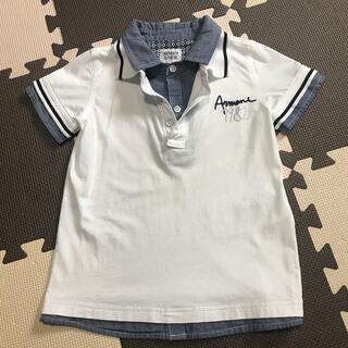 アルマーニ ジュニア(ARMANI JUNIOR)のアルマーニジュニア 重ね着風 シャツ 4A 106㎝(Tシャツ/カットソー)