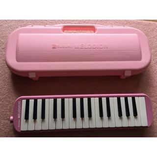 スズキ 鍵盤ハーモニカ MXA-32 ピンク(ハーモニカ/ブルースハープ)