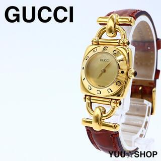 グッチ(Gucci)の大人気【電池新品】GUCCI 6300L バングル レディース 腕時計 付属品(腕時計)