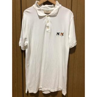 メゾンキツネ(MAISON KITSUNE')のメゾンキツネ MAISON KITUNE ポロシャツ ダブルフォックス(ポロシャツ)