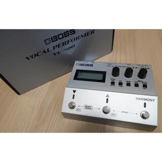 ボス(BOSS)の【箱取説あり】美品 BOSS  VE-500ボーカルエフェクター / VE500(エフェクター)