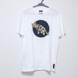 フェンディ(FENDI)のフェンディ サイズ54 L メンズ美品  -(Tシャツ/カットソー(半袖/袖なし))