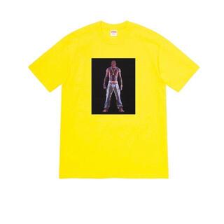 """シュプリーム(Supreme)のSupreme Tupac Hologram Tee """"Yellow""""(Tシャツ/カットソー(半袖/袖なし))"""