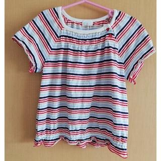 コンビミニ(Combi mini)のコンビミニ ボーダーTシャツ 110 100サイズ程度の感覚です USED(Tシャツ/カットソー)