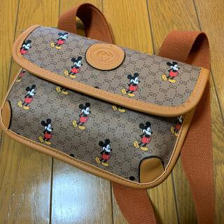 ミッキーマウス(ミッキーマウス)のミッキー×モノグラムボディーバッグ(ショルダーバッグ)
