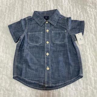 babyGAP - baby GAP デニムシャツ 80 新品・未使用 タグ付き