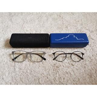 JINS - ジンズ JINS メガネ 2本セット ケース付き